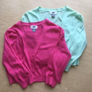 Old Navy Cropped Cardigans XS
